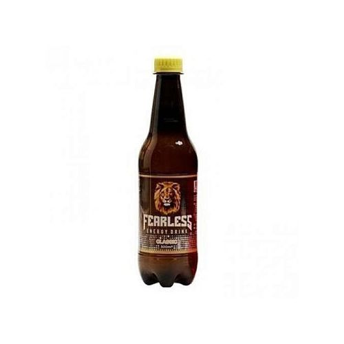Fearless Energy Drink Classic 500ml X 12 (brown)