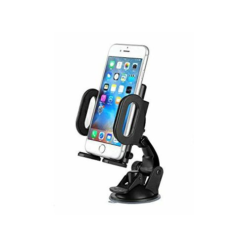 Universal 360°Rotation Car Phone Holder Bracket Stand -Black