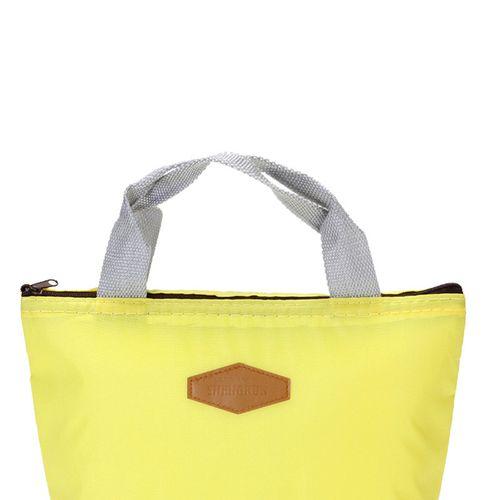 Niaduao Shop Waterproof Portable Picnic Insulated Food Storage Box Tote Lunch Bag YE