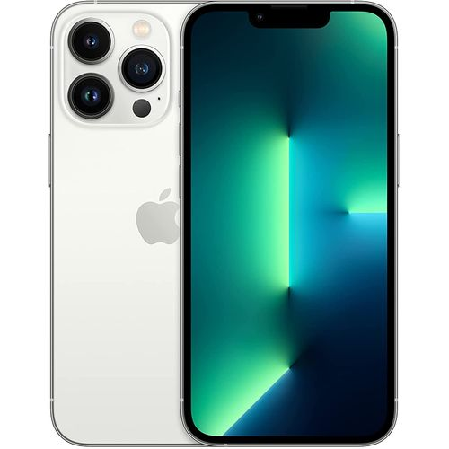"""IPhone 13 Pro Max 6.7"""" Super Retina XDR Display With ProMotion, (6GB RAM + 512GB ROM), IOS 15, 5G, FaceTime - Silver"""