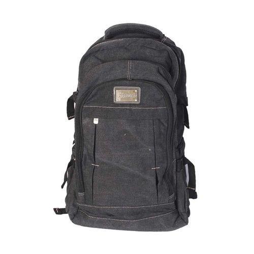 Trevellers Laptop And School Backpack Bag - Black