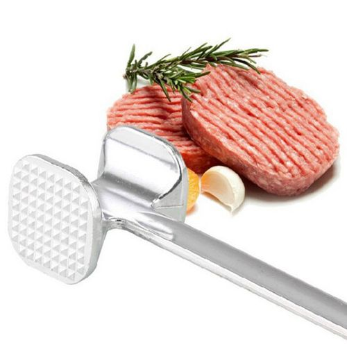 19.5cm Two Sides Aluminum Meat Hammer Mallet Beef Chicken Steak Beefs Porks