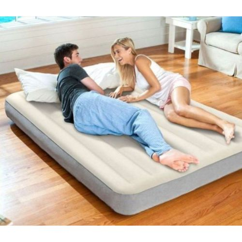 Queen Size Air-Flow Bed With Pump