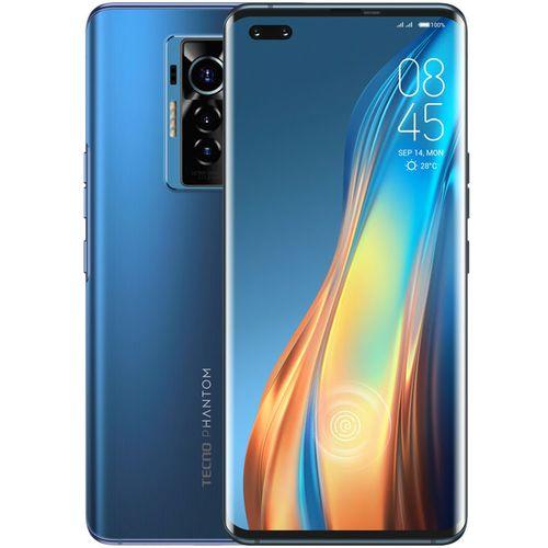 """Phantom X (AC8) 6.7"""" FHD+, 8GB RAM + 256GB ROM, 50MP Triple Camera + 48MP Selfie, Android 11, 4700mAh, Helio G95 - Blue"""