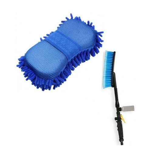 Car Wash Brush And Cleaner