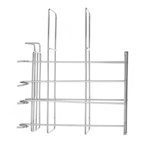 3 Tier Chrome Dish Drying Rack Drainer Cutlery Cups Holder Drip Kitchen
