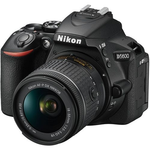 D5600 DSLR Camera With 18-55mm VR Lens - Black