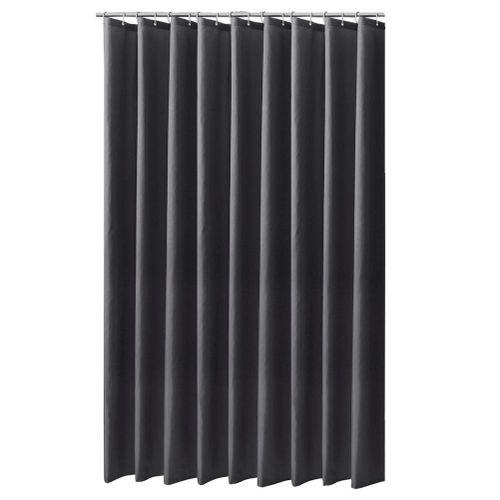 Curtain For Bathroom Durable Waterproof Mildew-proof Lightproof Bathroom Curtain With Hooks