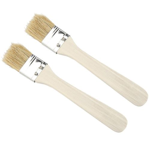 2pcs/ Set Lightweight Wooden Barbecue Brush
