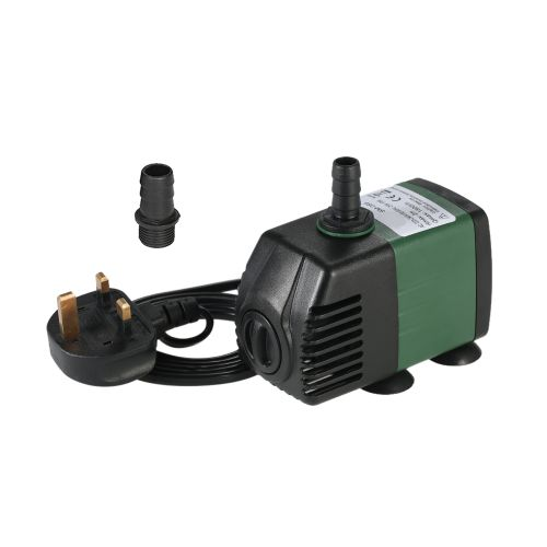 1500L/H 25W Submersible Water Pump For Aquarium Tabletop Fountains Pond Water Gardens And Hydroponic Systems With 2 Nozzles AC220-240V