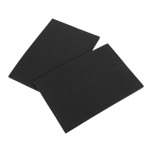 4pcs Non-slip Self Adhesive Floor Protectors Furniture Rubber Feet Pads(Black)