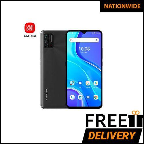 A7S Infrared Temperature Sensor 6.53-Inch (2GB,32GB ROM)Android 10 GO (13MP+8MP+2MP)+8MP 4150mAh Smartphone-Granite Grey