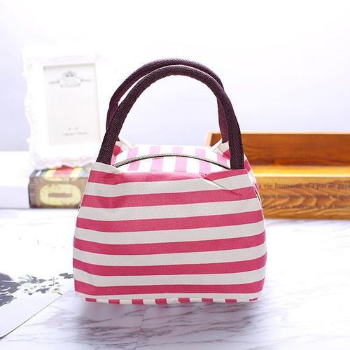 Practical Portable Oxford Waterproof Lunch Bag Leisure Picnic Packet Travel Supplies