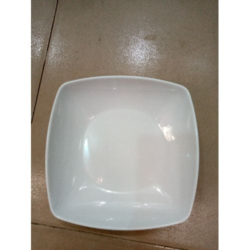6 Pcs Unbreakable Plate White