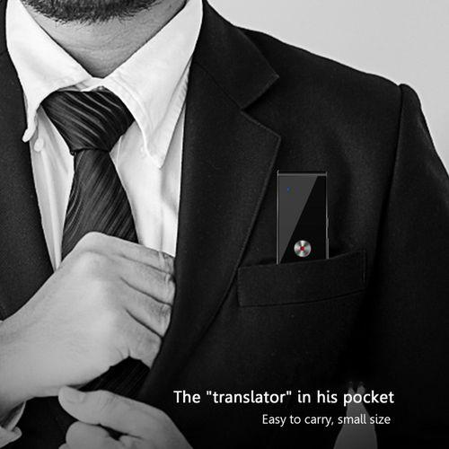 MT T8 Smart Voice Translator Two-way Real Time 30 Multi-Language Translation-Coffee Gold