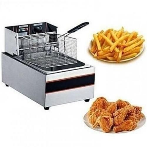Large Capacity Electric Deep Fryer 5.5L,Stainless Steel