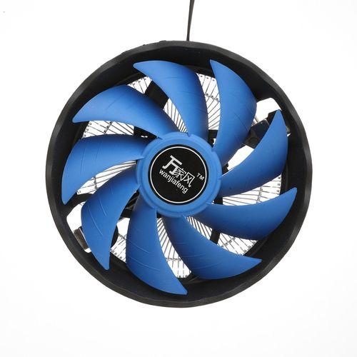 Mute 12V 3 Pin CPU Cooling Fan Cooler Heatsink For Inter 1156/ 1155/ 1150/ 775 AMD AM2/ AM2+/ AM3