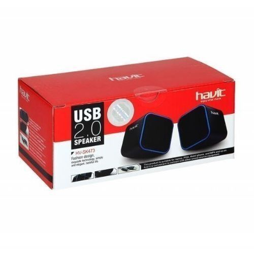 USB Cube Speakers For Laptop, Computer Systems And Phones
