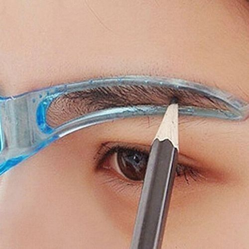 Eyebrow Template Stencil Grooming Shaping Helper DIY Tool Beauty Makeup DIY