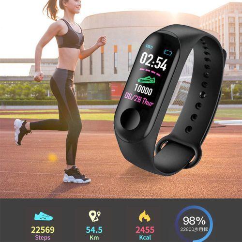 Wristbands Sport Smart Bracelet Fitness Tracker Watch