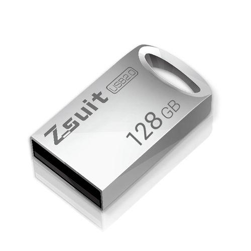 Zsuit 128GB USB 2.0 Mini Metal Ring Shape USB Flash Disk