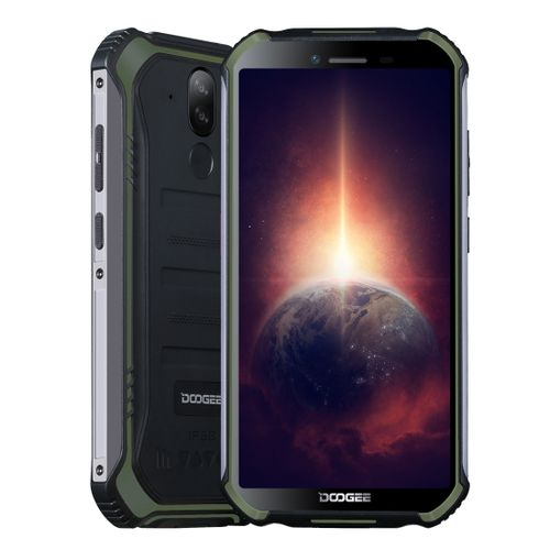 S40 Pro Rugged Phone, 4GB+64GB, 5.45 Inch Android 10, 4G - Green