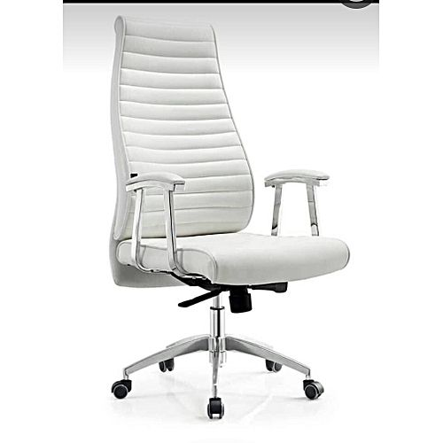 Executive Office Chair, Swivel With Reclining