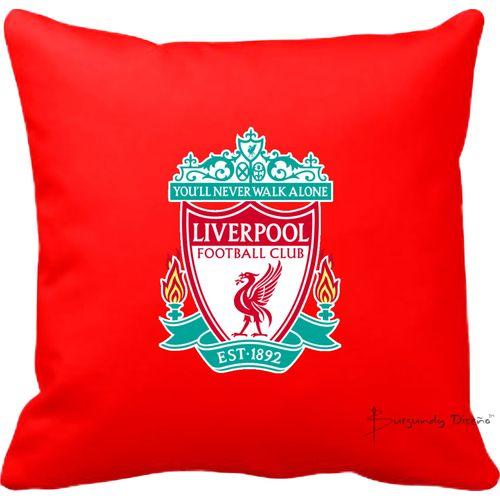Club Football Throw Pillow (Liverpool FC)