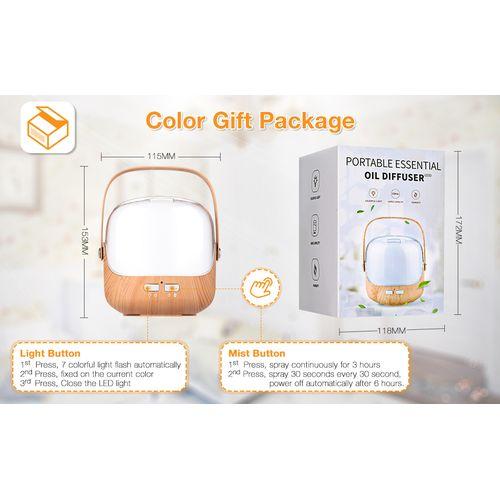 250ml LED Colour Ultrasonic Aroma Essential Oil Diffuser Air Purifier Humidifier