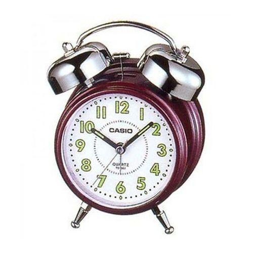 CASIO ANALOGUE ALARM CLOCK TQ-362-4BDF DESKTOP BELL SOUND SIMPLE STYLE