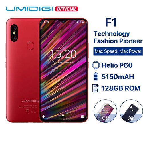 "UMIDIGI F1 Android 9.0 6.3"" FHD+ 128GB ROM 4GB RAM 18W Fast Charge Smartphone"
