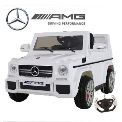 G WAGON Ride On For Kids- White