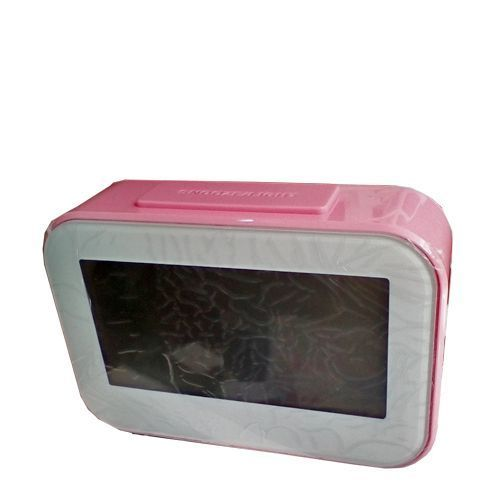 Digital Alarm Bedside Clock With Back Light LCD Display