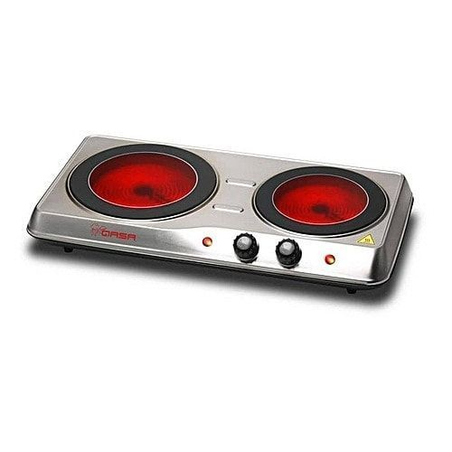 ELECTRIC COOKING PLATE - 2 Burner