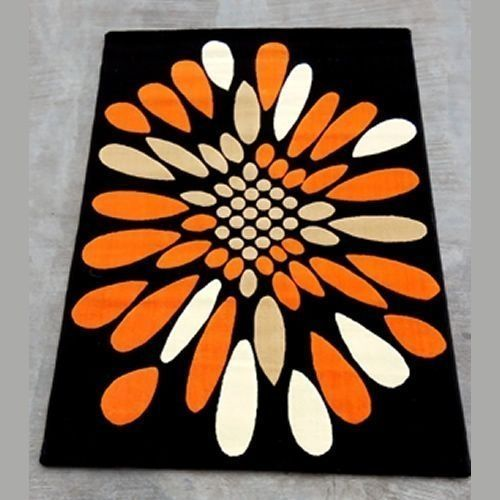 Feathery Center Rug - 4ft X 6ft - Aafreen Collection