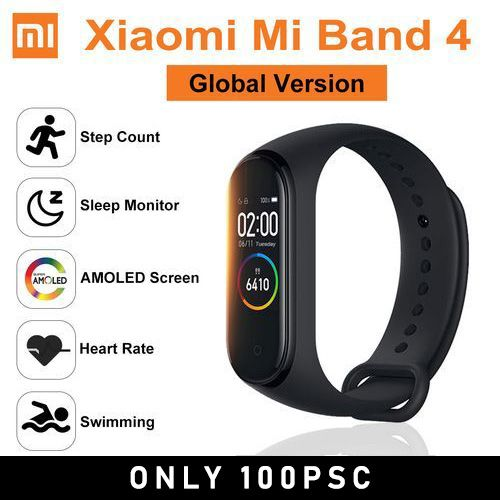 Xiaomi Band 4 Smart Watch Sport Bracelet Swimiming Wristband
