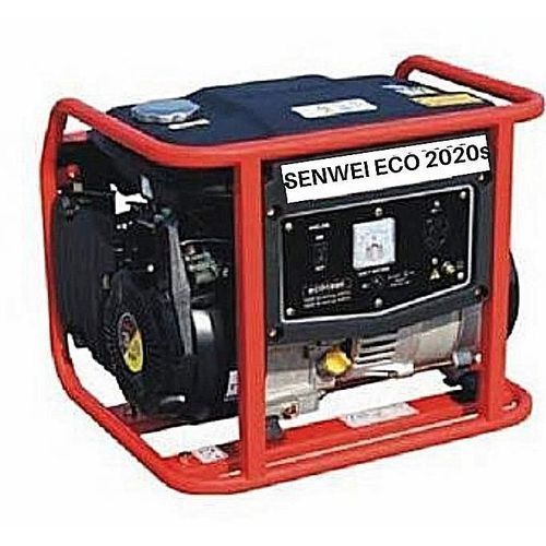 1.8KVA Manual Start Generator - (Red & Black)