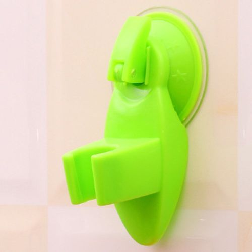 Practical Strong Sucker Shower Seat Stand Base Shower Suction Cup Holder Green