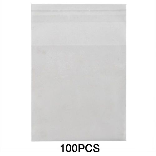 100 PCS Plastic Bag Candy Cookie OPP Birthday Gift Bag Candy Packaging Bag Gift Bag Snowflake