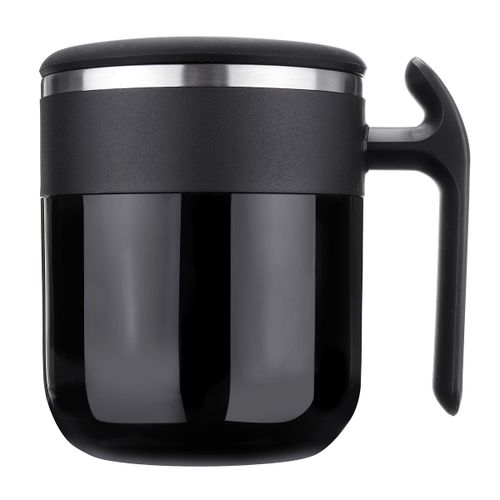 300ML Funny Auto Mixing Coffee Tea Cup Mug Stainless Steel Self Stirring Gift