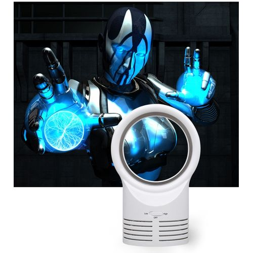 Watermalend Portable Air Conditioner Table Mini Bladeless Fan With Adapte