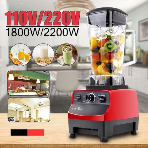 2L 2200W Heavy Duty Commercial Grade Blender Mixer Juicer Fruit Blender 220V Red