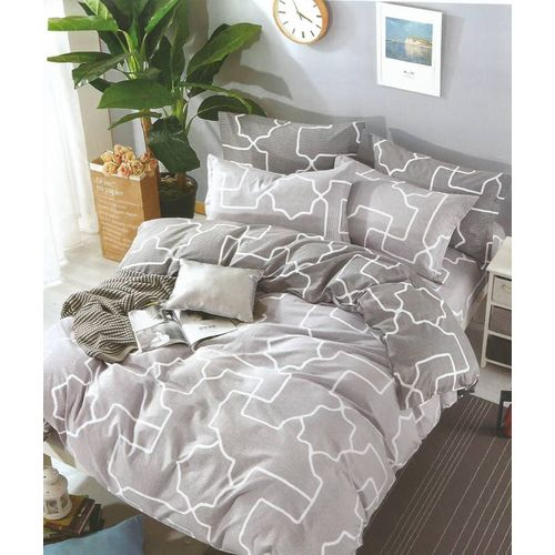 Duvet/Comforter Bedding Set With 4 Pillow Cases