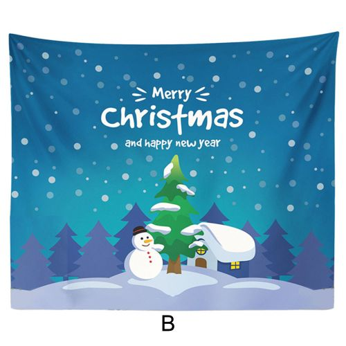 Dtrestocy Christmas Xmas Tapestry Hippie Room Bedspread Wall Hanging Throw Blanket