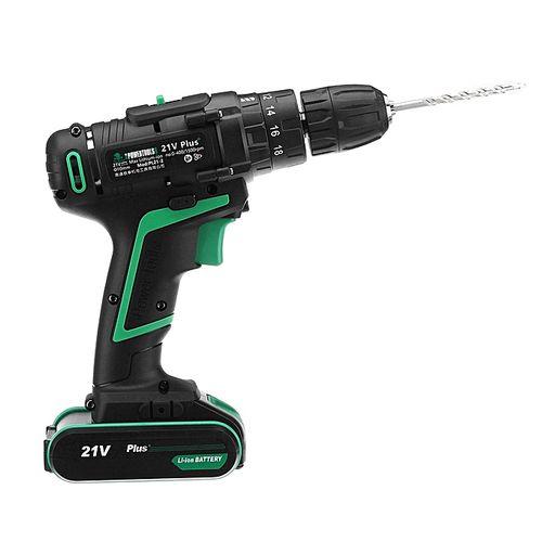 銆怓lash Deal銆?AC100-240V Cordless Electric Drill Screwdriver Tool Impact Drill