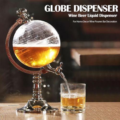 Bar Decoration Globe Dispenser Wine Dispenser Beer Liquid
