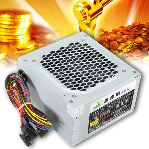 400W ATX PC CPU Power Supply Cooling Fan Box For INTEL AMDATI Nvidia VIA SIS
