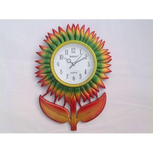 Rising Sun Designed Wall Clock