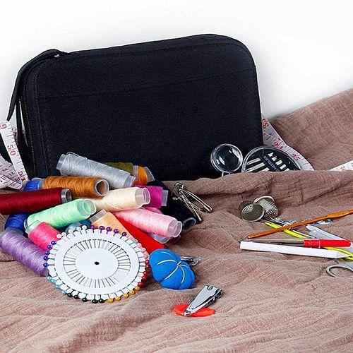 126pcs/Set Sewing Kit Scissors Needle Thread