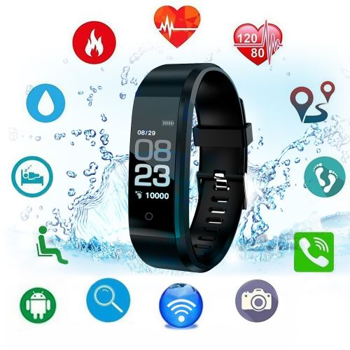 0.96in TFT Display Sport Fitness Tracker Wristband Watch